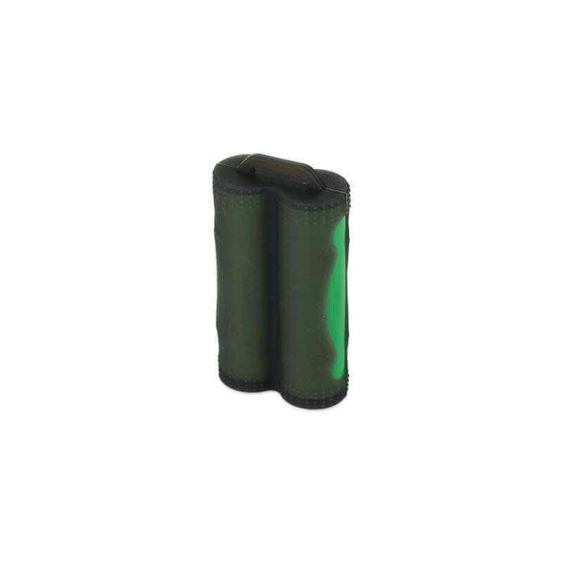 ETUI SILICONE ACCU 2X18650 noir Rangement 1,99€