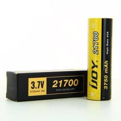 ACCU 21700 IJOY 3750mAh 40A Accus & Chargeurs 14,99 €