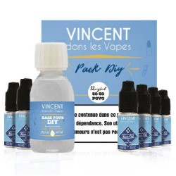 PACK DIY 125ML 50/50 VDLV DIY Bases 4,58 €