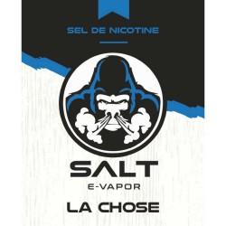 LA CHOSE SALT E-VAPOR LE FRENCH Le French Liquide 5,75€