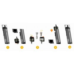 KIT SPRYTE ASPIRE Kits E-cigarette 20,99 €