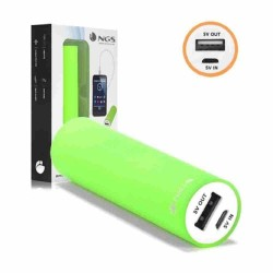 BATTERIE NOMADE POWERBANK 2200 MAH NGS vert Accus & Chargeurs 7,00 €