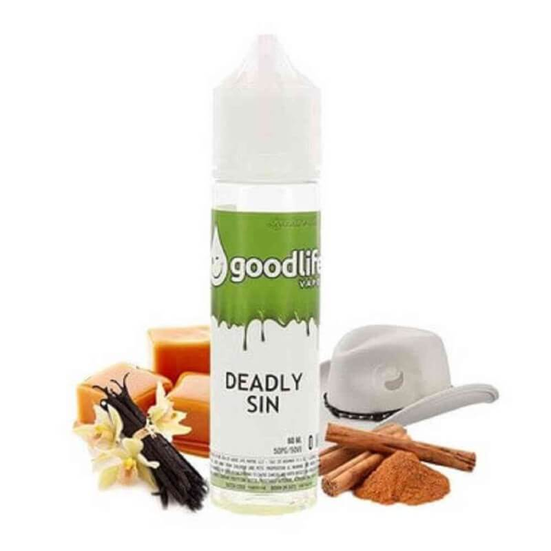 DEADLY SIN 0MG 50ML E liquide Tabac 24,90 €