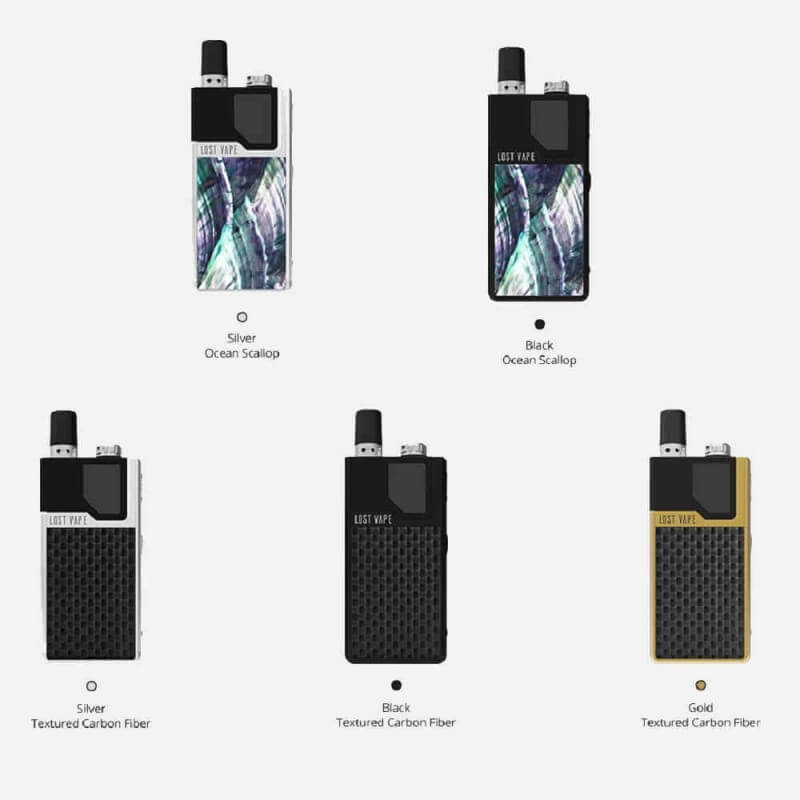 KIT ORION DNA GO LOST VAPE carbon noir Kits E-cigarette 63,90 €