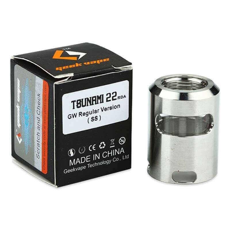 FENETRE TOP CAP TSUNAMI 24 steel regular GeekVape 4,09€