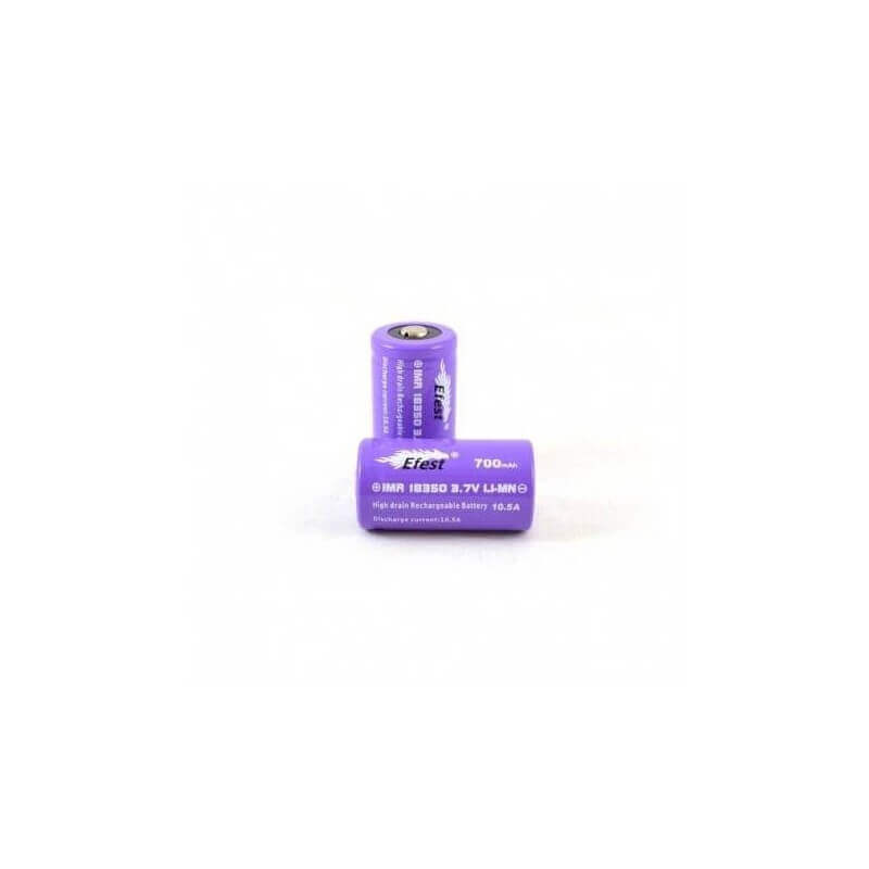 ACCU EFEST PURPLE 18350 Button Top Accu 18350 7,99 €