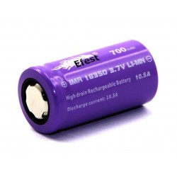 ACCU EFEST PURPLE 18350 Flat Top X 7,99 €