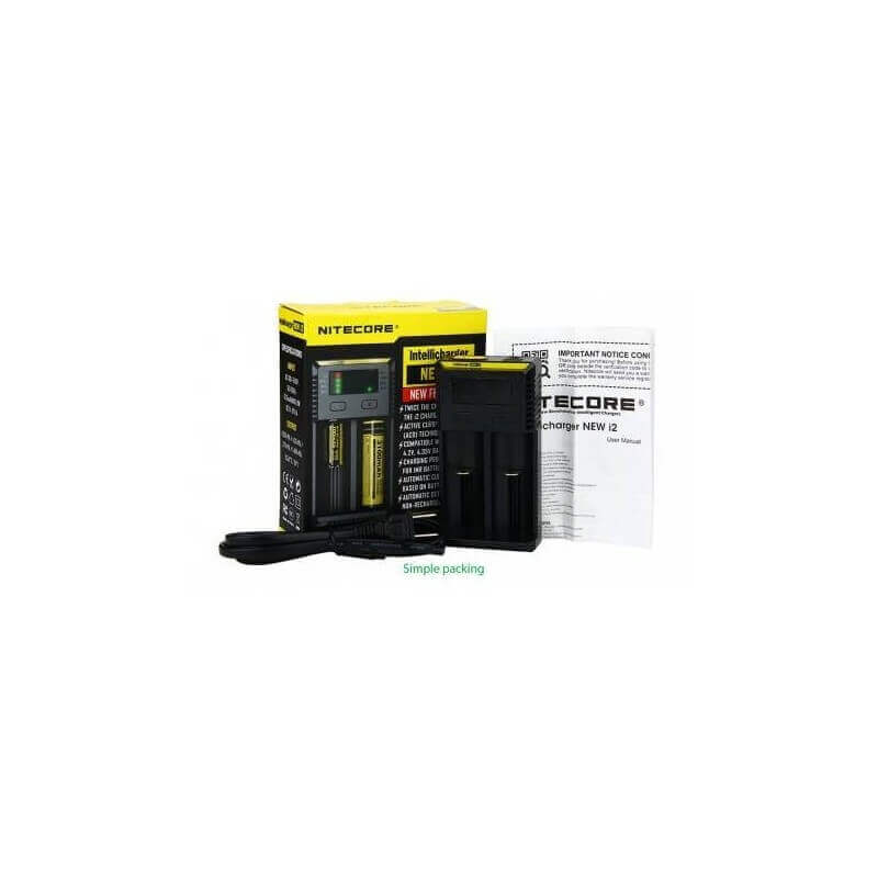 CHARGEUR NITECORE INTELLICHARGER I2 V3