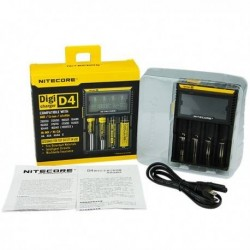 CHARGEUR NITECORE INTELLICHARGER D4