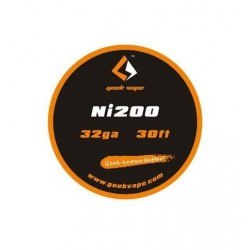 FIL RESISTIF NICKEL NI200 0.2MM 2 (32GA) GeekVape 2,50 €
