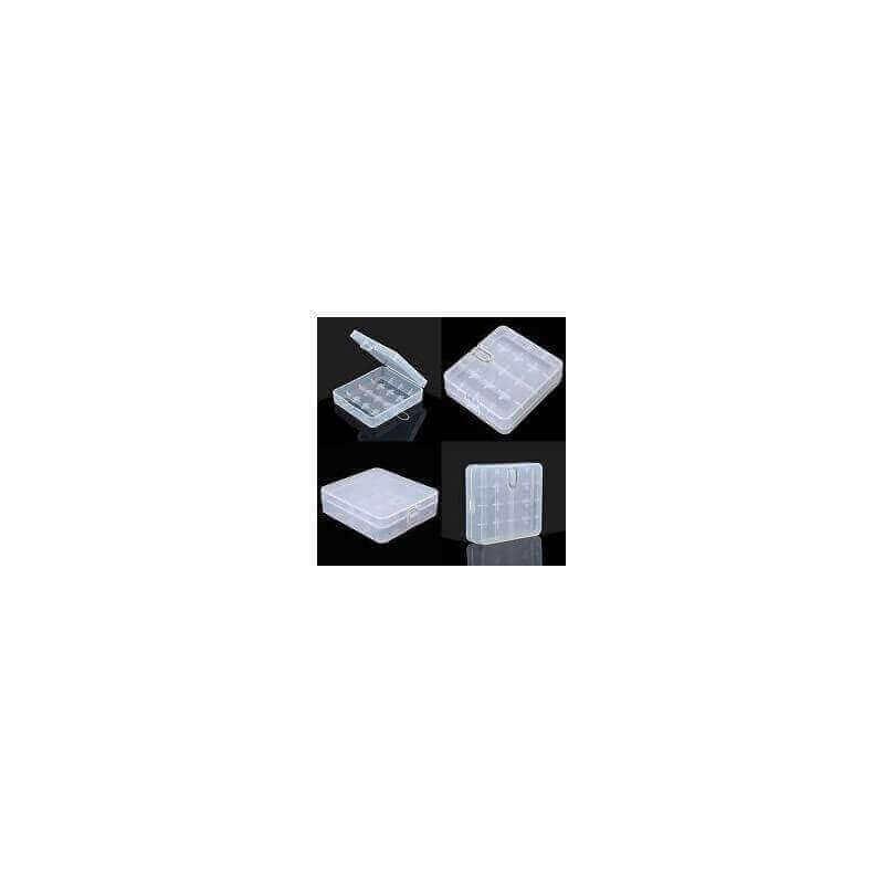 BOITE ACCU EFEST 4X18650 Rangement 3,89€